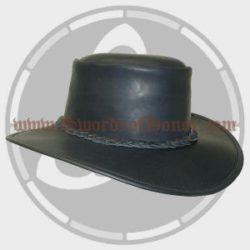 Child's Versatile Leather Cavalier/Tricorn Hat