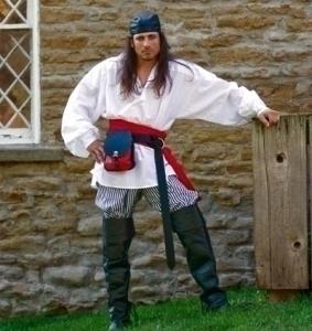 Cotton Pirate Sash