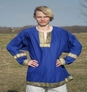 Decorated Medieval Tunic