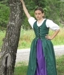 Girls Irish Dress