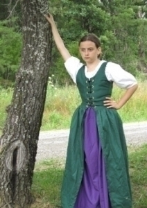 Girls Irish Dress