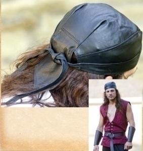 Leather Head Wrap