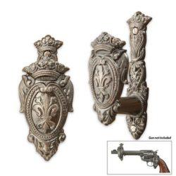 Fleur De Lis Sword or Gun Hanger