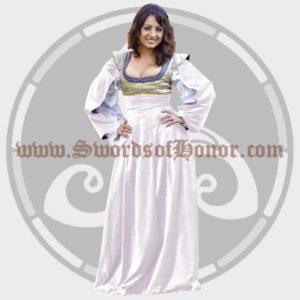 White Austrian Kleid