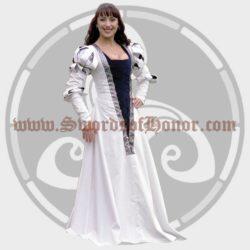 White German Gown
