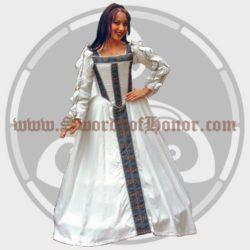 White Toledo Gown